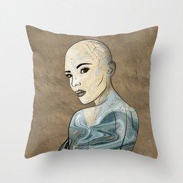 SeaBorn Gold Struck #2 Throw Pillow