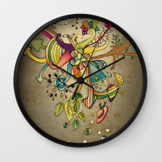 Another Strange World Wall Clock