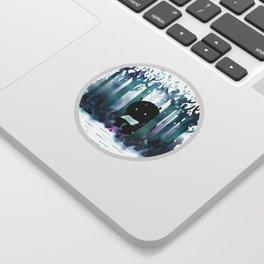 A Quiet Spot Sticker