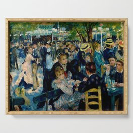 Pierre August Renoir's Bal Du Moulin De La Galette Restored Serving Tray