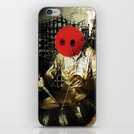 Under Construction iPhone Skin