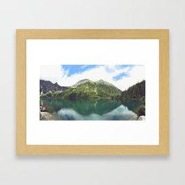 Eye of the Sea Framed Art Print