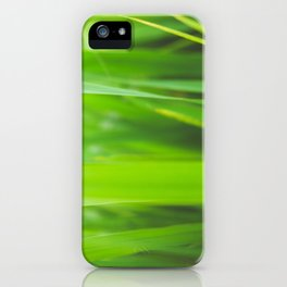 Summer is green iPhone Case