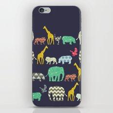 geo zoo iPhone & iPod Skin