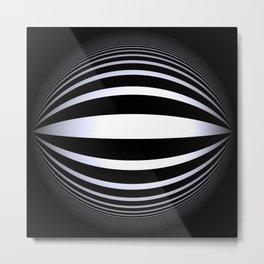 black-and-white -02- Metal Print
