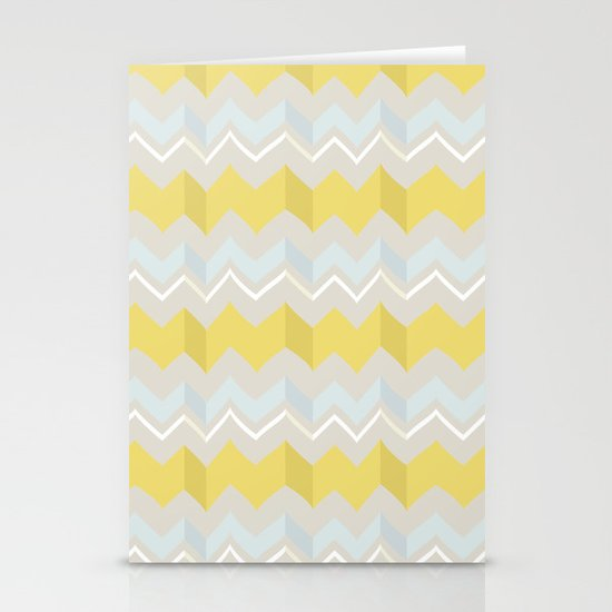 Zigzags Stationery Cards