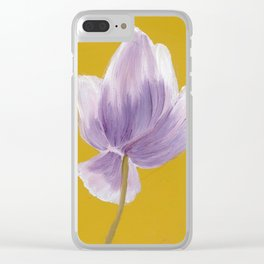 Gold Seal Clear iPhone Case