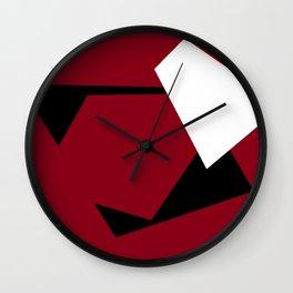 Abstract Shapes Wall Clock
