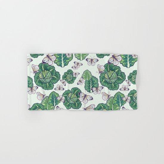 butterflies in the garden Hand & Bath Towel