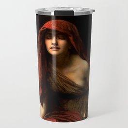 "John Collier ""Priestess of Delphi"" Travel Mug"