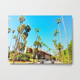 Beverly Hills Metal Print