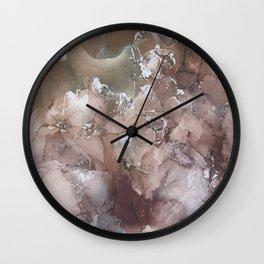 Star Theory Rust Wall Clock