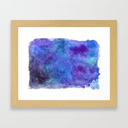 Galaxy Love:. Framed Art Print