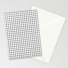 Dotted Grid Stationery Cards