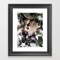 Sea MAsh Framed Art Print