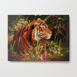 Un-Caged and Magnificent Metal Print