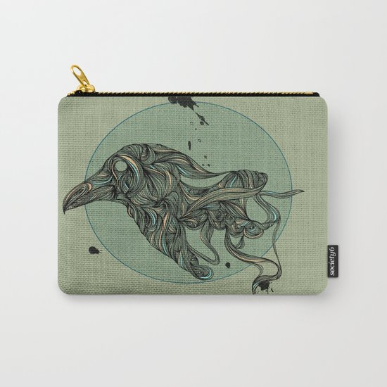 Raven Rules Carry-All Pouch