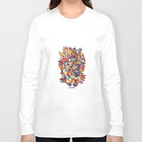 architecture Long Sleeve T-shirts featuring - dreamed architecture - by Magdalla Del Fresto