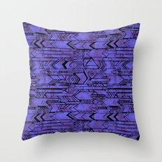 Kama'aina Purple Throw Pillow