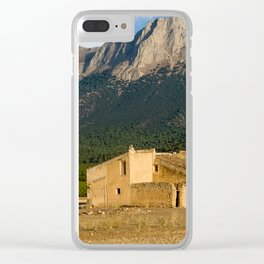 Parque Natural De Sierra Maria-Los Velez Clear iPhone Case
