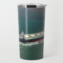Ore Ship to Port Travel Mug