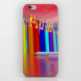 time to draw a picture -1- iPhone Skin