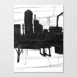 Railway II Canvas Print