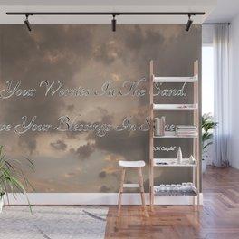 Blessings Wall Mural