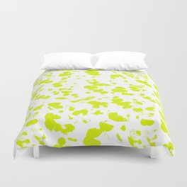 Neon splash Duvet Cover