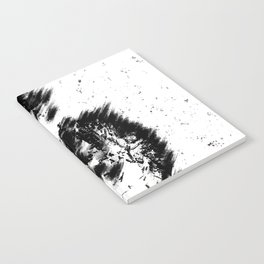 Abstract Soldier (Black) Notebook