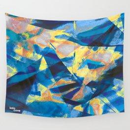 Azure Marine Wall Tapestry