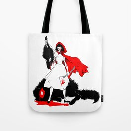 Little Red Riding Hood [2] Tote Bag