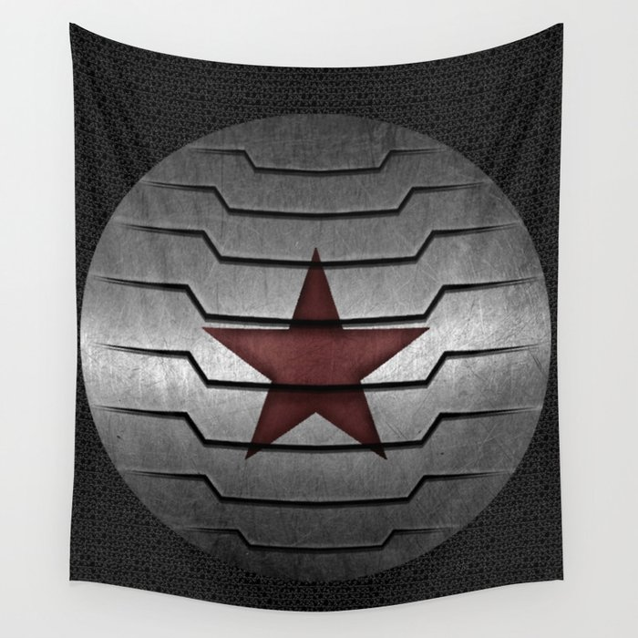 Winter Soldier Arm Wall Tapestry By Humblebee Society6