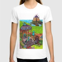 monkey island T-shirts featuring Monkey Island by Charlie L'amour