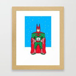 Candied Christmas Framed Art Print