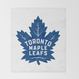 Toronto Maple Leaf Logo Throw Blanket