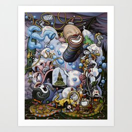 Greatest Show on Earth Art Print