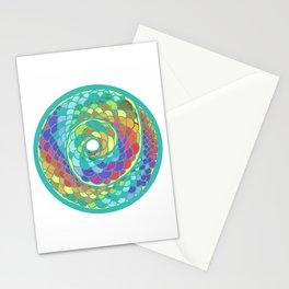 Spiral Snake Stationery Cards
