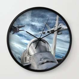 Swarm of Hornets Wall Clock