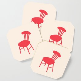 Red Chair Coaster
