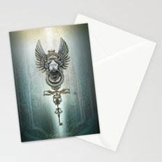the key and the door Stationery Cards