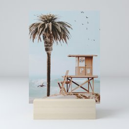 no lifeguard ii Mini Art Print