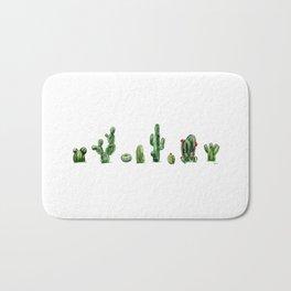 Cactus row Bath Mat