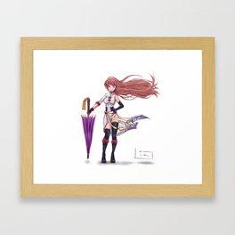 Adult Kagura Framed Art Print