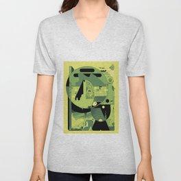 Desert Pajamas Unisex V-Neck