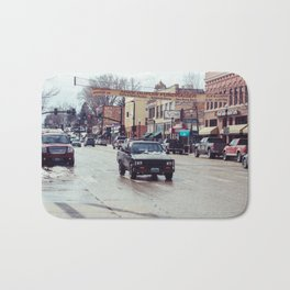 Downtown Street - Sheridan, WY Bath Mat