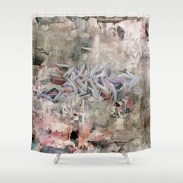 The graffiti Shower Curtain