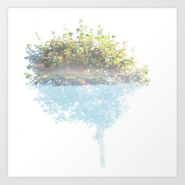 Where the sea sings to the trees - 3 Art Print