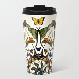 Kaleidoscope with Wings Travel Mug