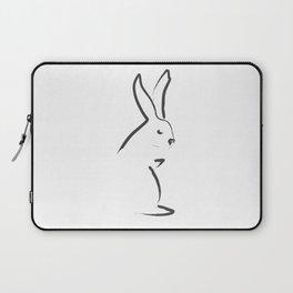 Zen Snow Bunny Laptop Sleeve